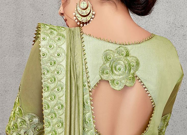 Beautiful Sleeves Best Styles Of Party Wear Saree Blouse Designs 2020