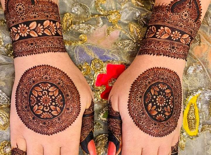 Pakistani Special Bridal Mehndi Designs 2020 For Full Hands