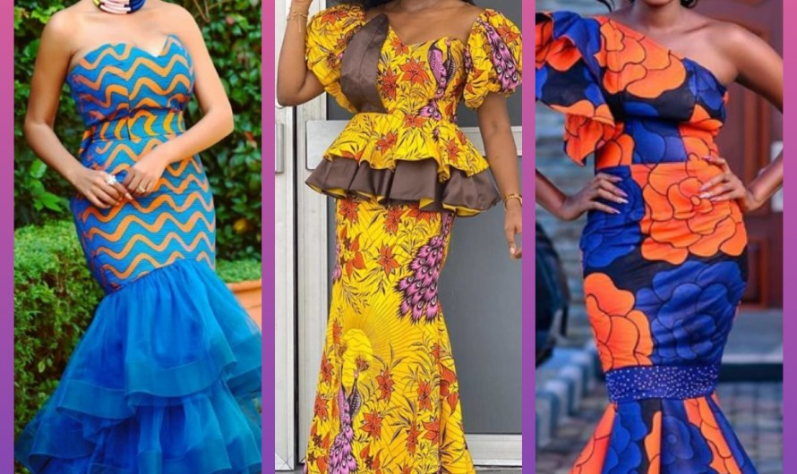 Pretty Wedding Ankara Gown Styles 2020 For Queens
