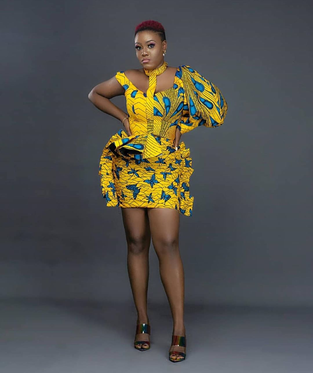 2020 Ankara Styles Latest African Dresses For Teenagers (5)