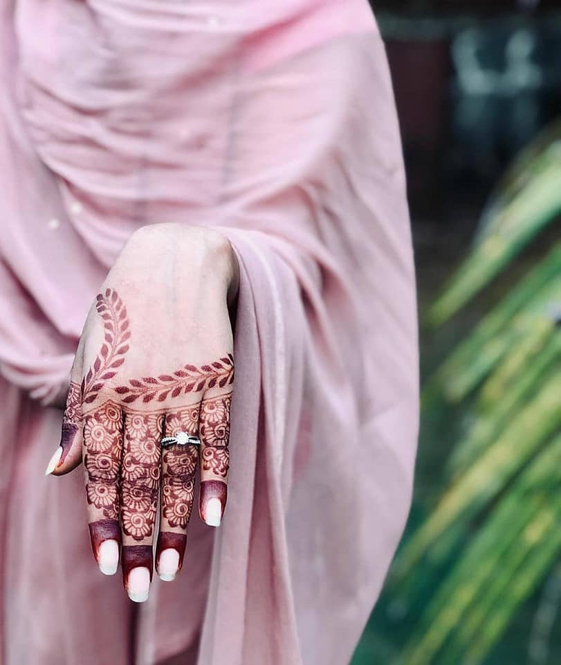 arabic mehndi design easy and beautiful for back hand