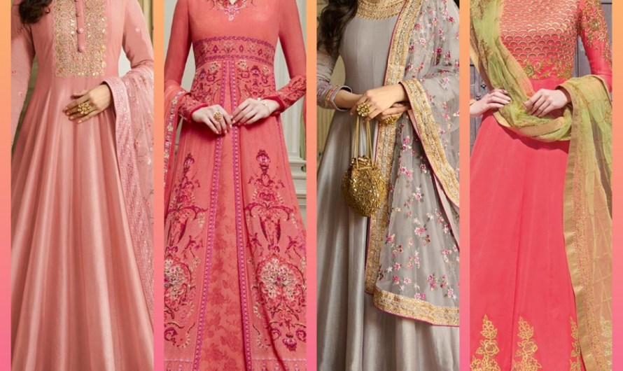 Bridal Mehndi Wear Latest Floor Length Frock Designs 2020 Anarkali Style Images