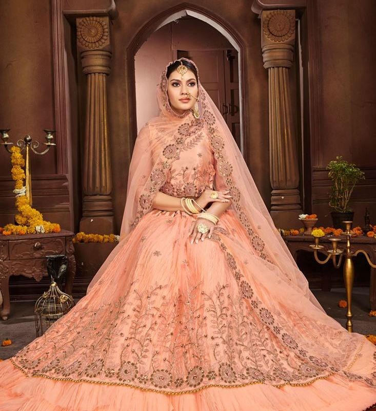 Latest Indian Bridal Silk Net Lehenga Choli Designs 2020 For Wedding Season,Small Space Design Ideas For Small Kitchens