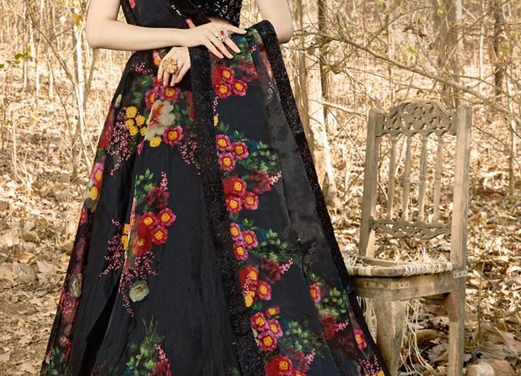 Latest Indian Fancy Lehenga Designs 2020 With Designer Blouse Sleeves