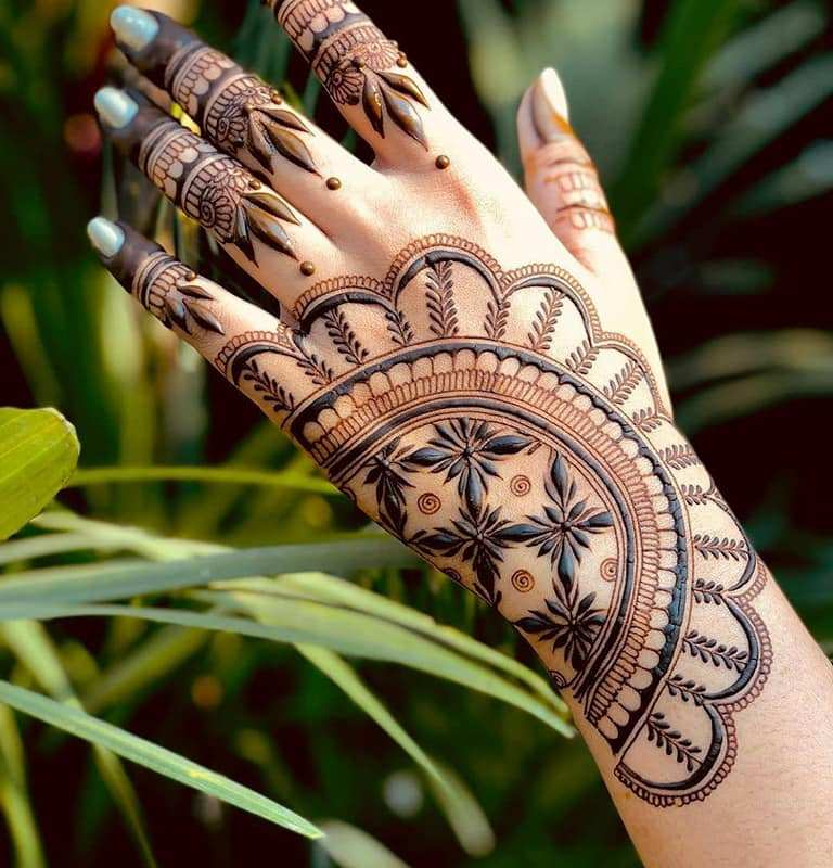 New Style Latest Bridal Mehndi Designs 2020 For Full Hands Arms