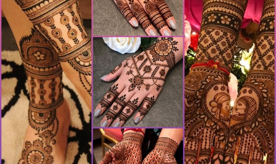 The Most Attractive Latest Bridal Mehndi Designs 2020 For Full Hands & Feet