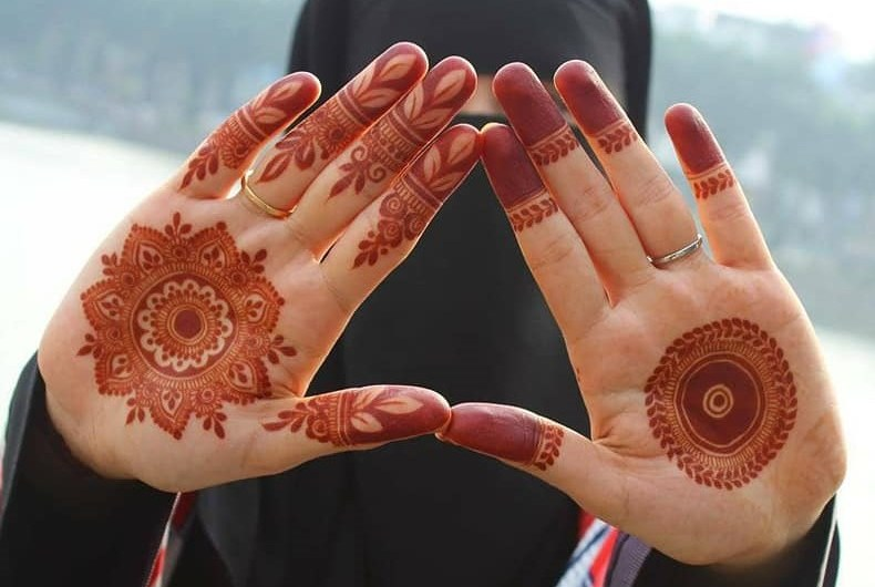 Very Simple Latest Easy Dulhan Mehndi Designs 2020 For Barat