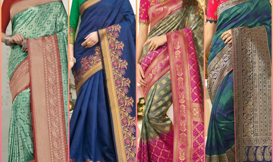 Evergreen Indian Women Saree Designs 2020 Latest Formal Dresses Collection