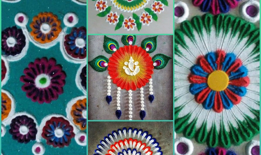 Impressive Decorating Rangoli Designs 2020 For Your Home