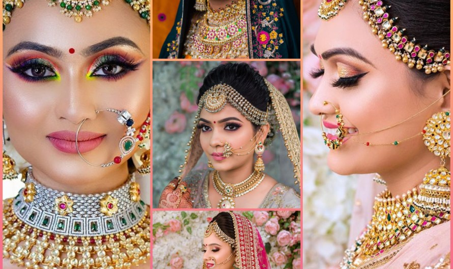 Latest Indian Bridal Makeup Jewellery & Hairstyles 2020 Mind Blowing Ideas For Girls