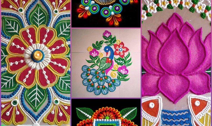 Magical Rangoli Designs Images 2020 New Collection