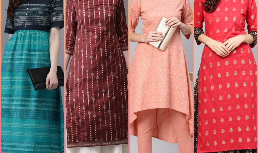New Style Embroidered Kurti Designs 2020 In India