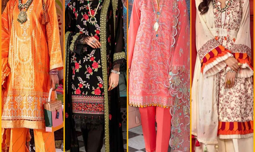 Vol 1 Latest Gul Ahmed Luxury Unstitched Festive Eid Collection 2020