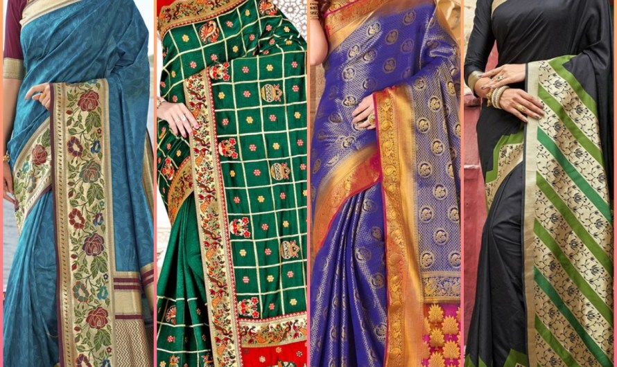 Women Mehndi Function Wear New Saree Designs 2020 In India