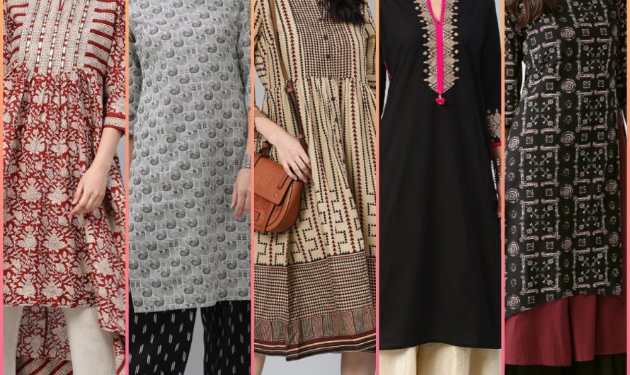 Designer Cool Kurti Collection 2020 Latest 50+ Stylish Kurti Designs Images For Beautiful Look