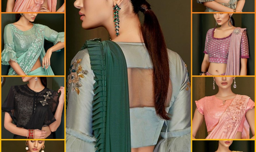 Stylish Sleeves Designer Latest Saree Blouse Designs 2020 Collection For Weddings & Engagements