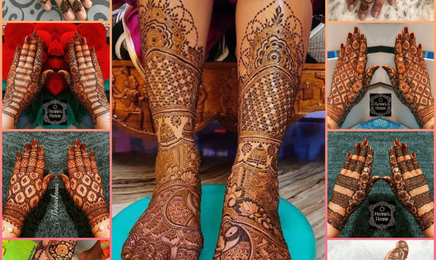 New 30 Latest Mehndi Designs 2020-2021 Images For Girls & Indian Bridals