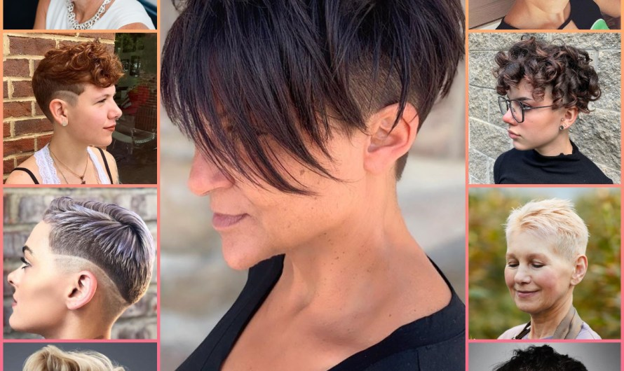 Summer Pixie Hairs 2020 Latest Short Hairstyles & Haircuts Images For Young Girls & Old Women