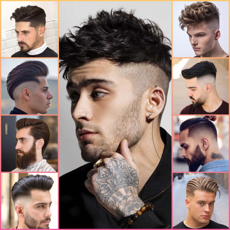 25 Most Stylish Men Hairstyle Medium Length 2020 For You Arabic Mehndi Design
