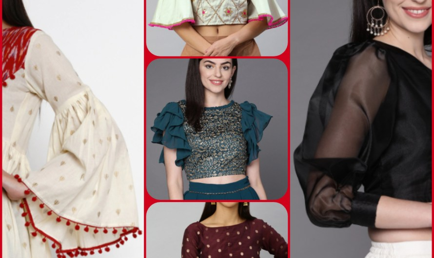 20 Types Of Sleeves With Name For Ladies | Beautiful Simple Sleeves For Tops & Kurtis