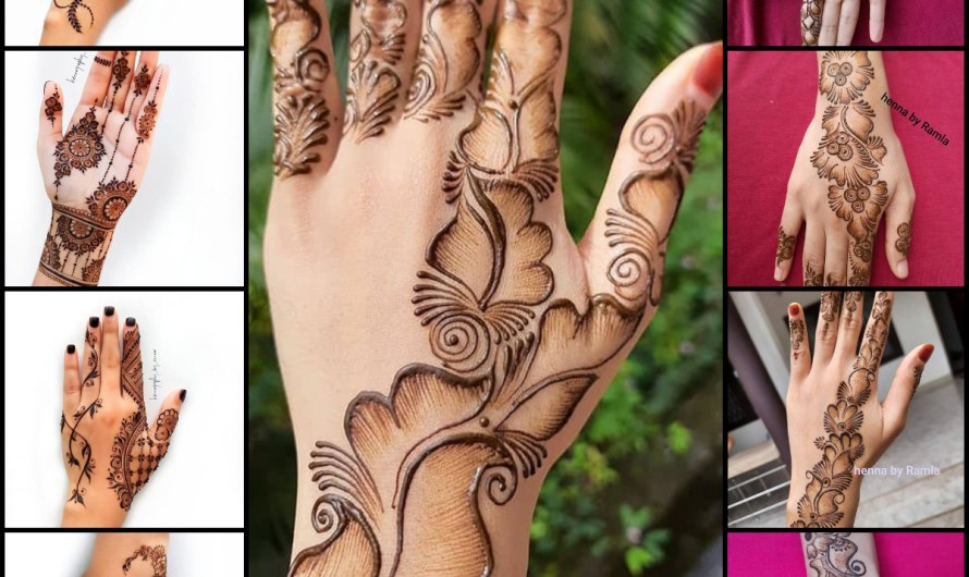 22 New Mehndi Designs Arabic Style 2020 Simple Collection