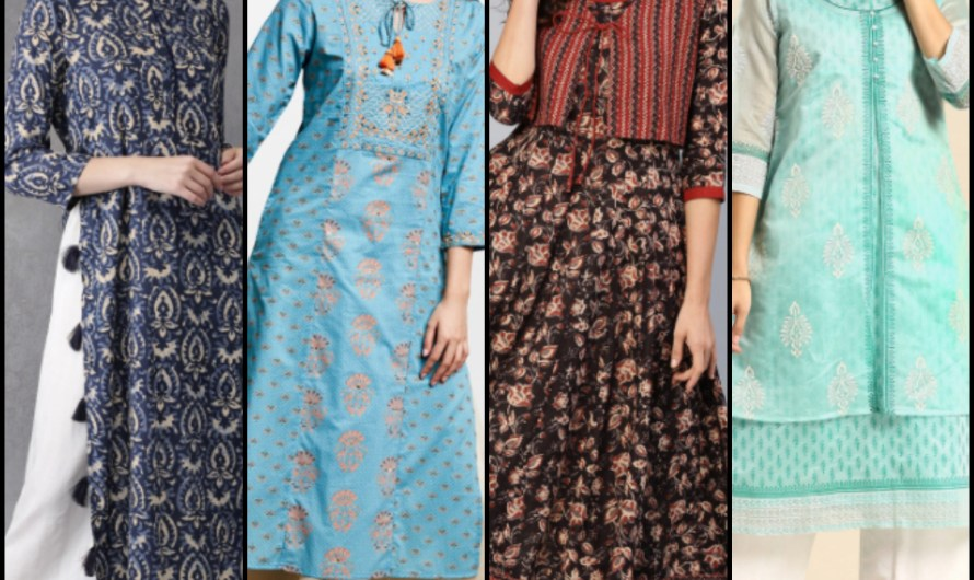 Best 20+ Latest Long Kurti For Women 2020 With Their Name