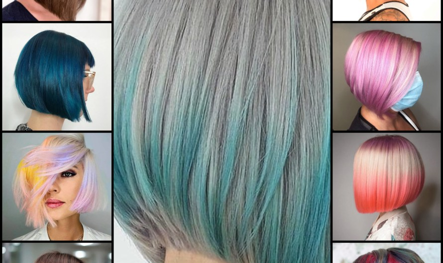 Colorful Bob Hairstyles Gallery For Women Latest Different Bob Haircuts 2020