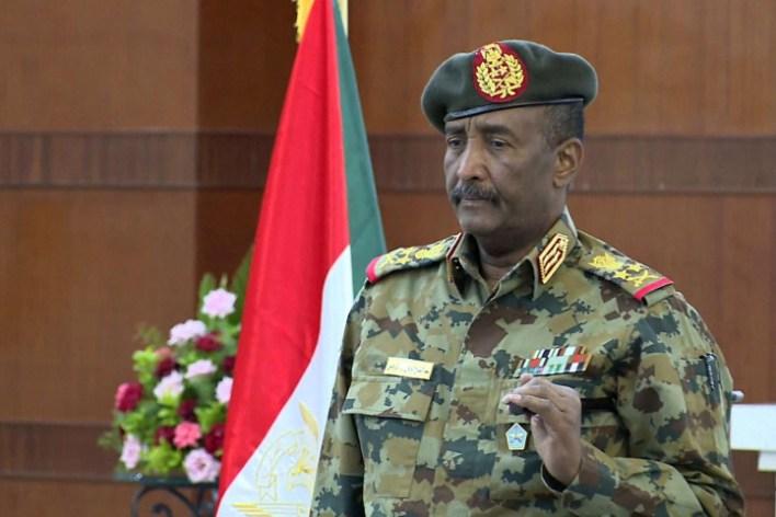 رئيس مجلس السيادة الانتقالي عبدالفتاح البرهان - الشبكات الاجتماعية