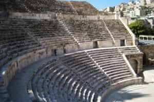 Altes Amphitheater in Amman