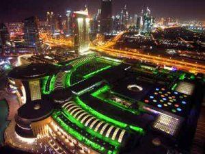 The Dubai Mall bei Nacht c by the dubai mall
