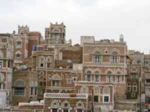 Jemen: typischer Baustil