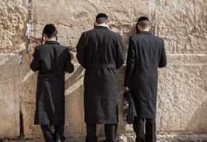Klagemauer in Jerusalem - Israel