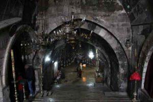Eingang zum Mariengrab in Jeruslaem