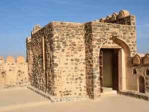 Der schöne Palast von Jabrin bei Bahla im Oman