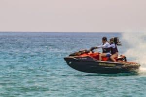 Wassersport am Persischen Golf