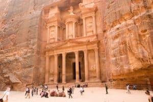 Petra - die Felsenstadt der Nabatäer in Jordanien