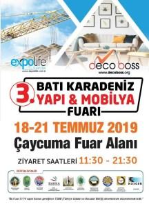 3. DecoBoss Batı Karadeniz Yapı & Mobilya Fuarı