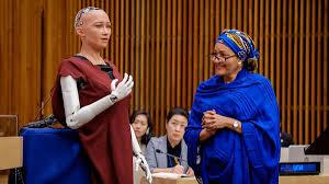 Photo of شاهد.. روبوت يشارك في جلسة أممية للمرة الأولى
