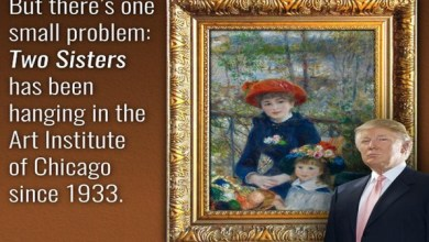 Photo of متحف أميركي يخبر ترمب بأن لوحة لرينوار في شقته.. مزورة
