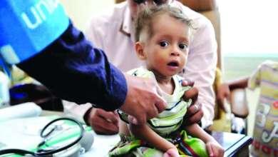 Photo of الأمم المتحدة: الكوليرا غزا 92 % من مساحة اليمن
