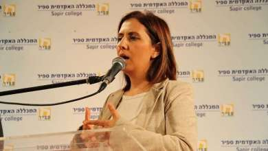 Photo of وزيرة إسرائيلية: سيناء أفضل مكان للفلسطينيين لإقامة دولتهم!