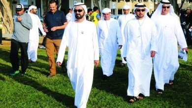 Photo of لهذا السبب سحب حاكم دبي خيوله من سباقات الوثبة