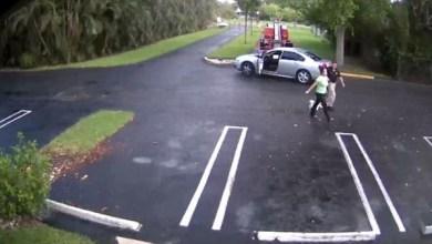 Photo of فيديو.. شرطي أميركي يطلق النار على حبيبته وينتحر