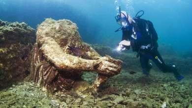 Photo of اكتشاف مدينة رومانية غارقة بكنوزها في أعماق البحر