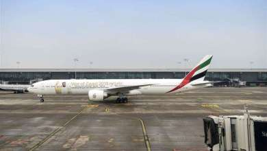 Photo of بالصور.. طائرة الإمارات البوينج 777 الجديدة تدهش الركاب