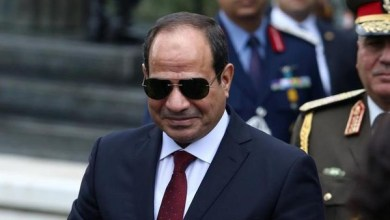 Photo of أول تعليق من الرئيس المصري على الرسوم المسيئة للنبي محمد