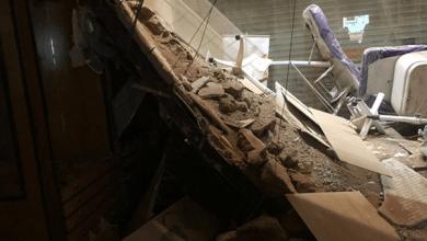 Photo of بالصور.. سقوط سقف مشغل نسائي وإصابة امرأة بالمدينة المنورة