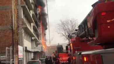 """Photo of """"القفز هو الحل"""" بعد اندلاع حريق بفندق تركي"""