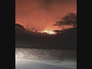 Photo of شاهد.. حريق يلتهم غابات جبل الجدعان في السعودية