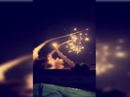 Photo of شاهد كيف دمرت دفاعات السعودية صاروخا حوثيا فوق الرياض